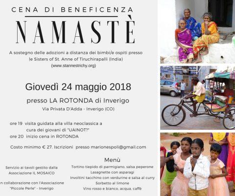 Namastè – Cena Benefica