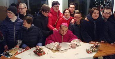 Visita dell'Arcivescovo di Milano a CASANOSTRA